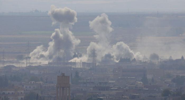 ABŞ Suriyadakı koalisiyanın silah-sursat anbarını məhv edib
