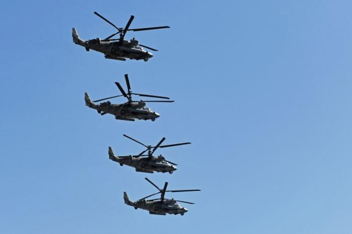 Rusiya helikopterlərini ABŞ-ın keçmiş bazasına göndərdi