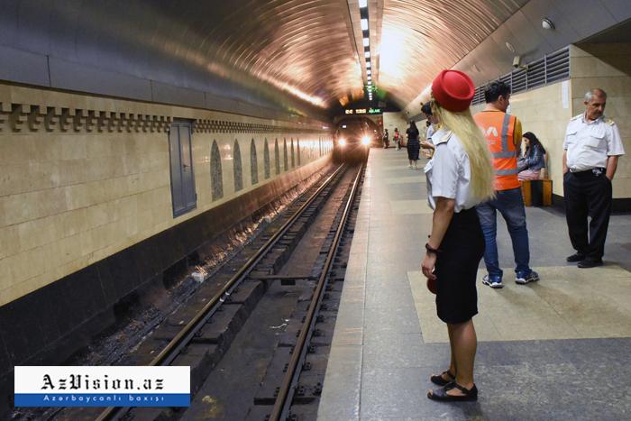 Bakı metrosu gücləndirilmiş rejimə keçdi