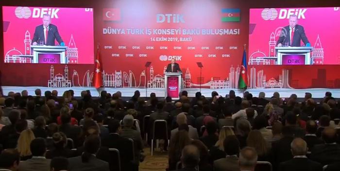 Bakıda Dünya Türk Biznes Şurasının görüşü oldu - VİDEO
