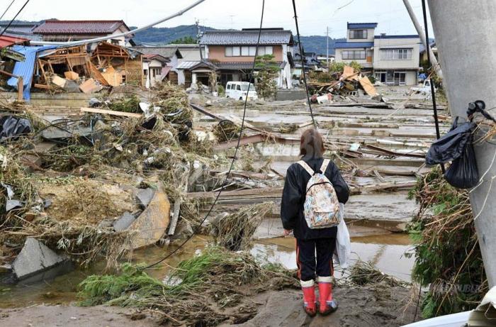 Japon: le bilan du typhon Hagibis passe à   70 morts