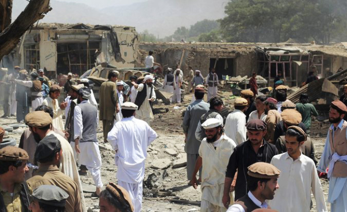 Explosion hits official vehicle in Afghan capital, injuring one