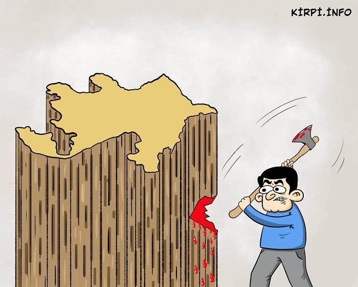 Azərbaycana balta vuranlar