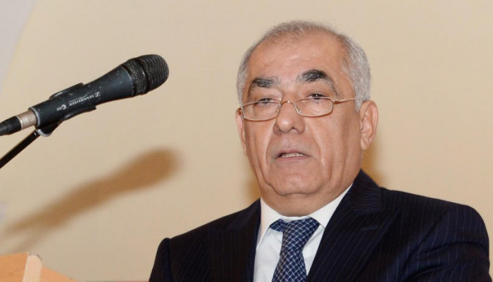 Appointment of Ali Asadov as Prime Minister of Azerbaijan on parliament