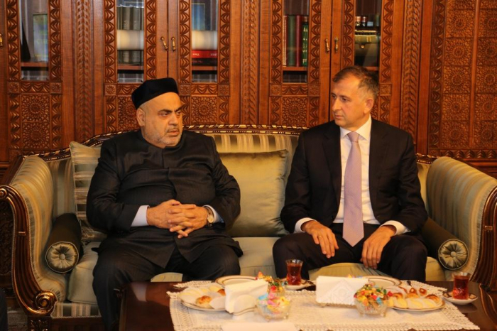 Chairman of Caucasus Muslims Office meets Georgian ambassador