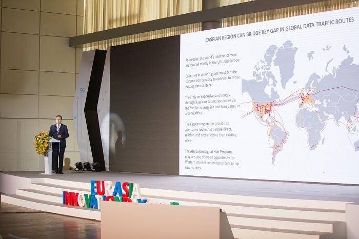"""""""Azerbaijan Digital HUB"""" proqramı """"Eurasia İnnovation Day"""" tədbirində təqdim olunub"""