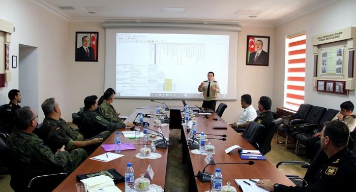 """Concluyen """"las jornadas de la OTAN"""" en el ejército azerbaiyano"""