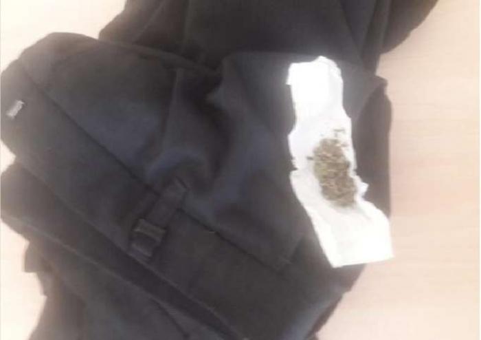 Ərinə narkotik aparan qadın saxlanıldı