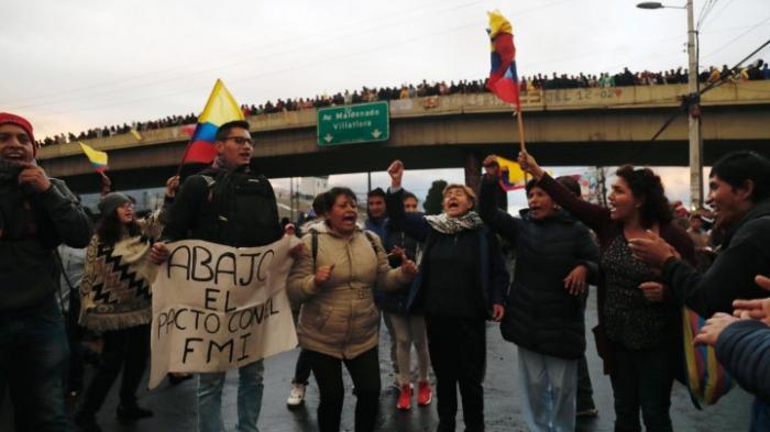 Präsident Moreno verlegt Regierung nach Guayaquil