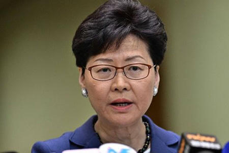 China plans to replace Hong Kong leader Lam with