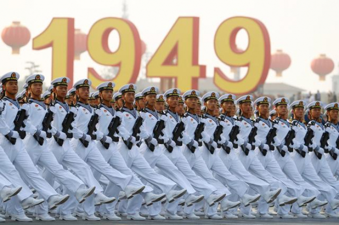 China marks 70 years of Communist rule with massive show of force