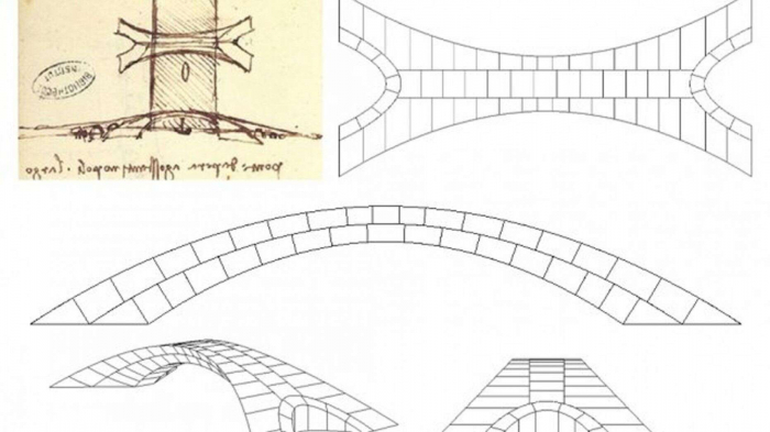 Da Vinci bridge design stuns researchers 500 years later