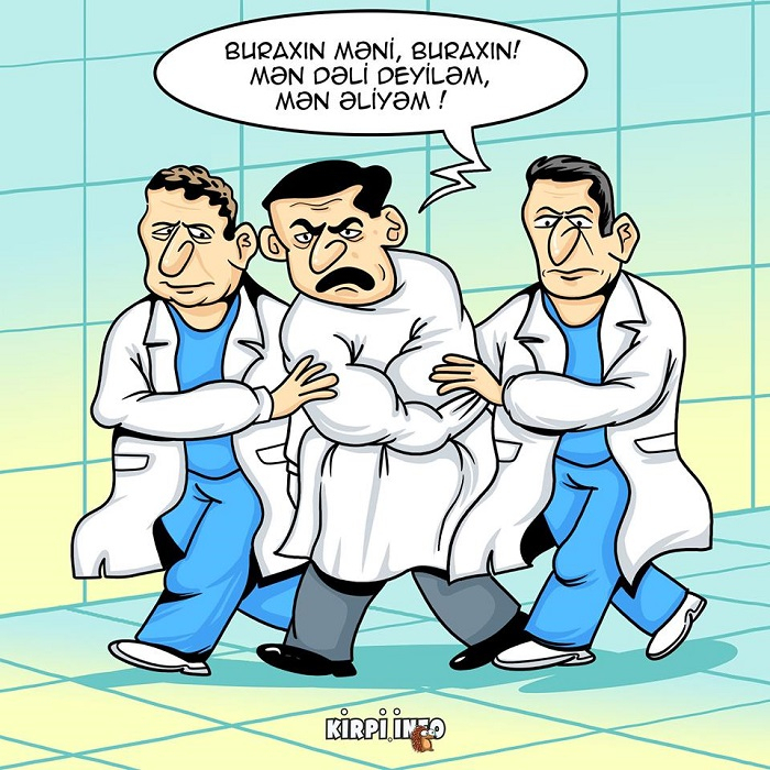 Zəlilikdən dəliliyə - KARİKATURA