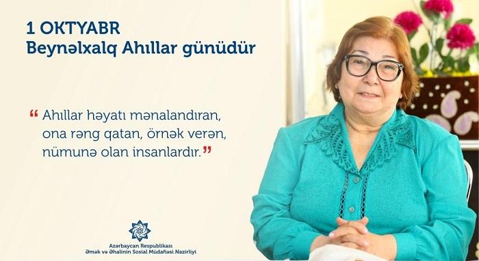 10 minədək ahıl və əlil sosial-məişət xidməti ilə təmin edilir