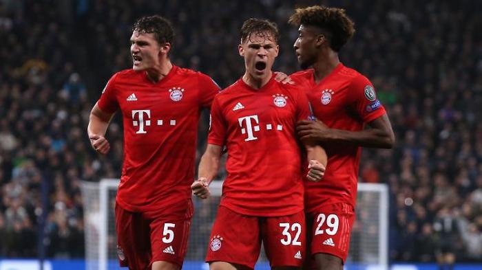 FC Bayern demütigt Tottenham mit Torfestival