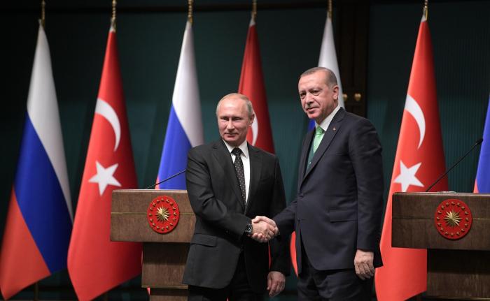 Türkiyə ilə Rusiya arasında -