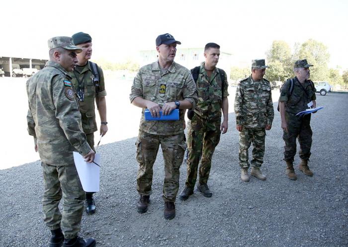 Naxçıvanda silahlara baxış keçirildi - VİDEO