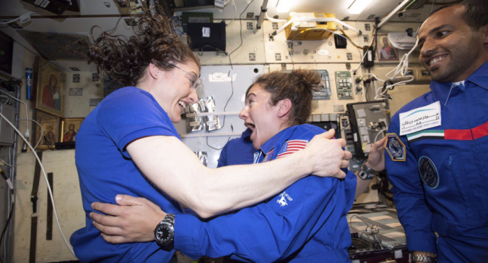 Big step for womankind: First all-female spacewalk to be held this October