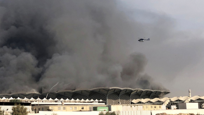 Fire at Saudi high-speed rail station injures at least 5