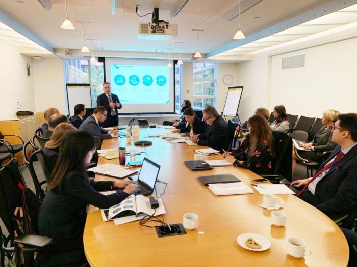 Presentación especial sobre Azerbaiyán en la reunión anual del Banco Mundial y el FMI