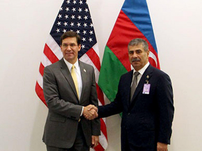 Azerbaijan, US mull bilateral ties in Brussels