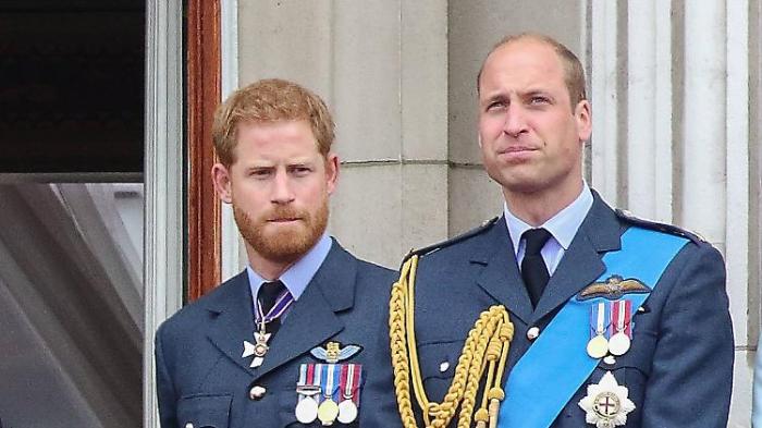 Harry hat angespanntes Verhältnis zu William