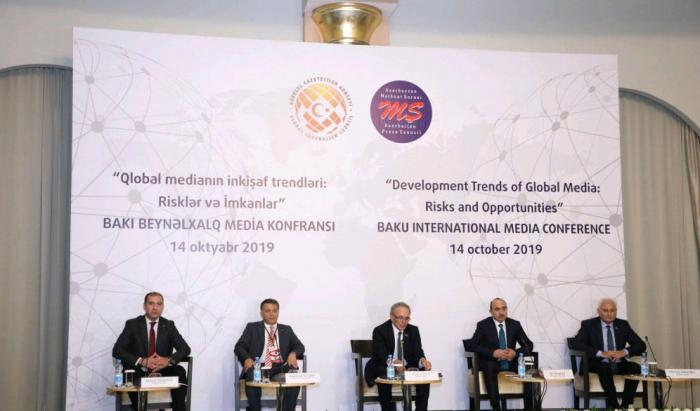 International media conference underway in Baku