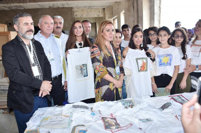 "Heydar Aliyev Foundation VP attends ""Speaking Walls"" urban art project"