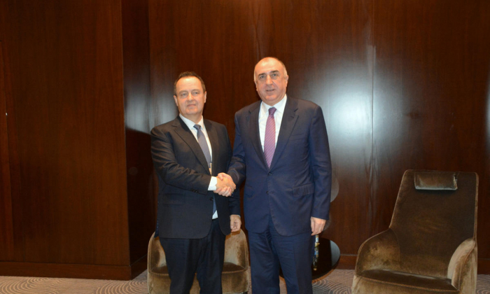 Azerbaijani, Serbian FMs meet on the sidelines of the 18th Summit NAM