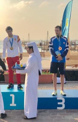 Triatletas azerbaiyanos han ganado dos medallas en los primeros Juegos Mundiales de Playa