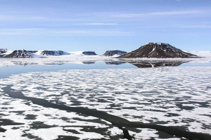 Melting glaciers reveal five new islands in the Arctic