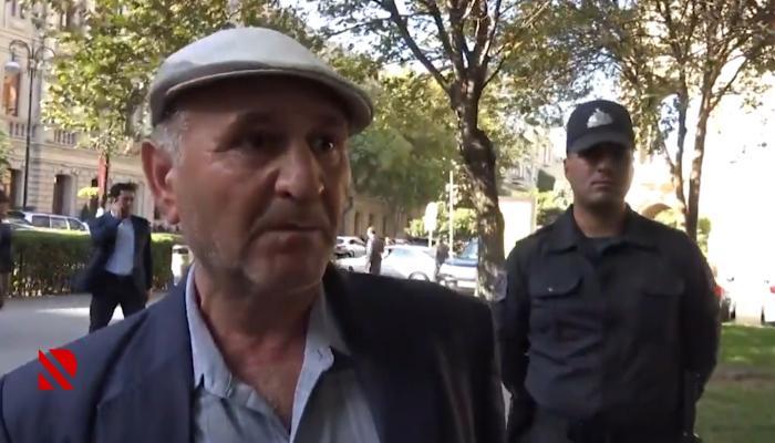 Piketdə yalan danışan Yaşar Cəfərov ifşa olundu