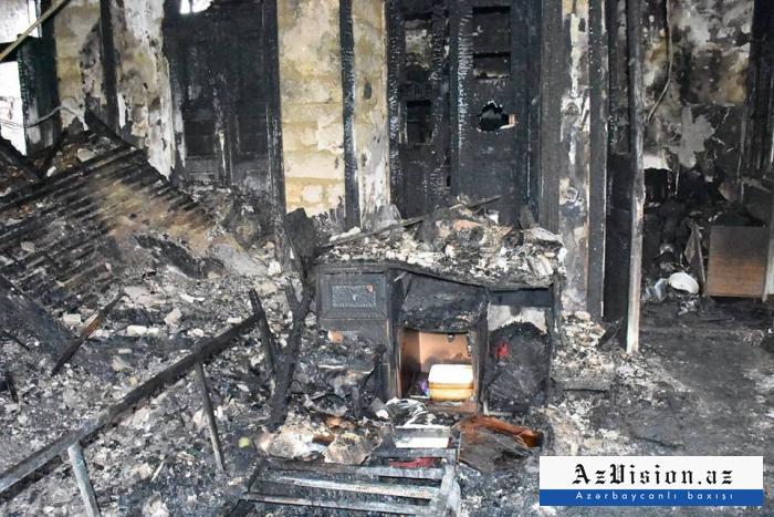 Rusiyada 3 nəfər yanaraq ölüb