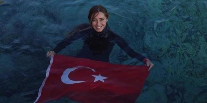 """Türkiyəli idmançı """"Ginnesin Rekordlar Kitabı""""na düşdü - VİDEO"""
