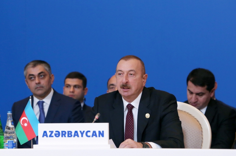 Having destroyed mosques sacred to Muslims, Armenia cannot be a friend of Muslim countries - President Aliyev