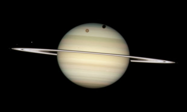 Saturn overtakes Jupiter as host to most moons in solar system