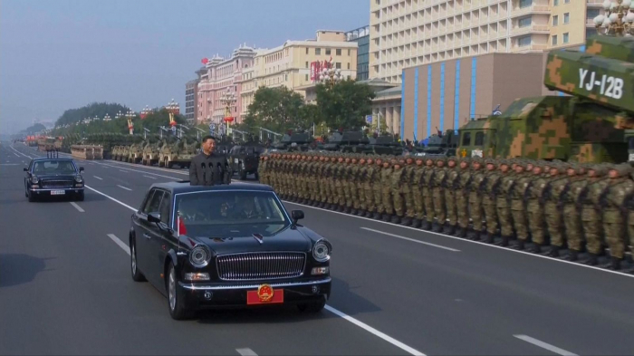 China marks 70 years of Communist rule with military parade