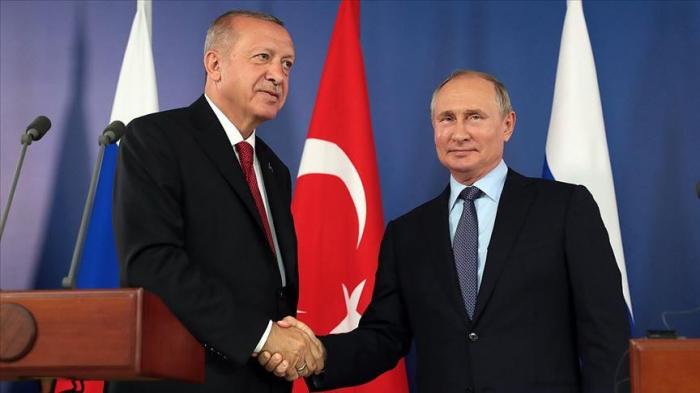 Erdogan en Russie le 22 octobre