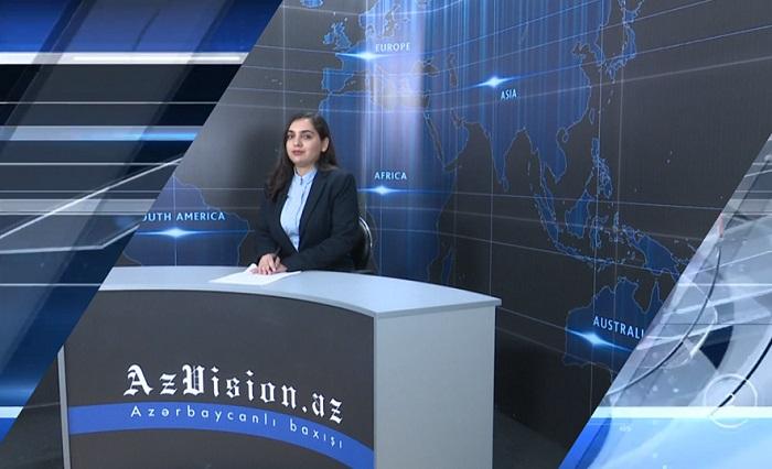 AzVision News: İngiliscə günün əsas xəbərləri (18 Oktyabr) - VİDEO