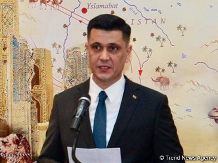 """""""Turkmenistan, Azerbaijan implementing large-scale projects in various spheres"""""""