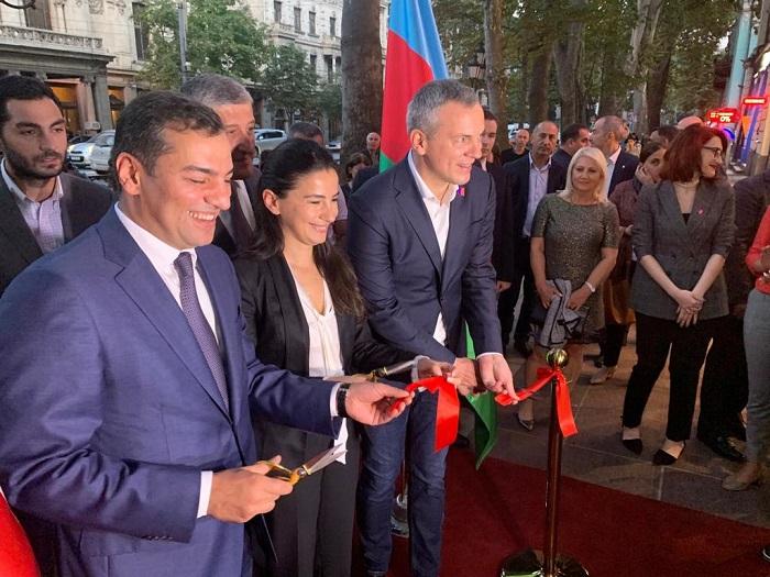 """Tbilisidə """"Azerbaijan.Travel"""" qonaq mərkəzi açıldı"""