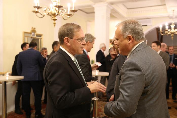 US and UK ambassadors host reception celebrating Contract of Century anniversary
