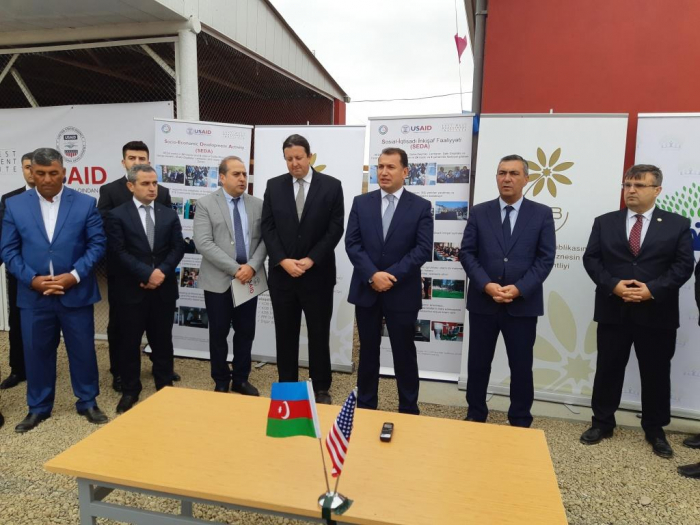 Second USAID-Azerbaijan project completed in Jojug Marjanli