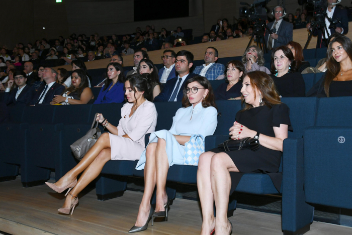 Azerbaijani First VP Mehriban Aliyeva attends closing ceremony of second Nasimi Festival of Poetry, Arts and Spirituality - PHOTOS