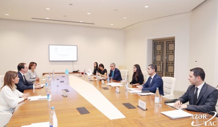 Heydar Aliyev-Stiftung und UNICEF unterzeichnen Memorandum of Understanding