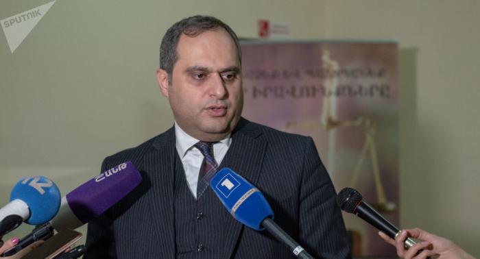 """Ermənistan Vəkillər Palatasının sədri: """"Hər birimiz təhlükə altındayıq"""""""