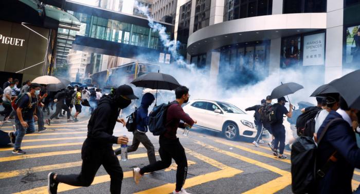 مجلس الشيوخ الأمريكي يوافق بالإجماع على قانون حماية حقوق الإنسان في هونغ كونغ