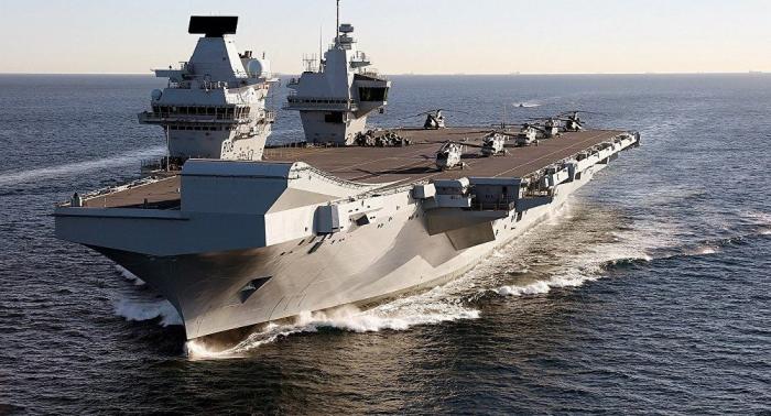 Le porte-avions le plus cher de la Royal Navy arrivé à son port d'attache