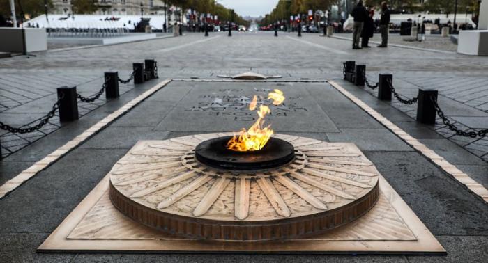 La France commémore le 101e anniversaire de l