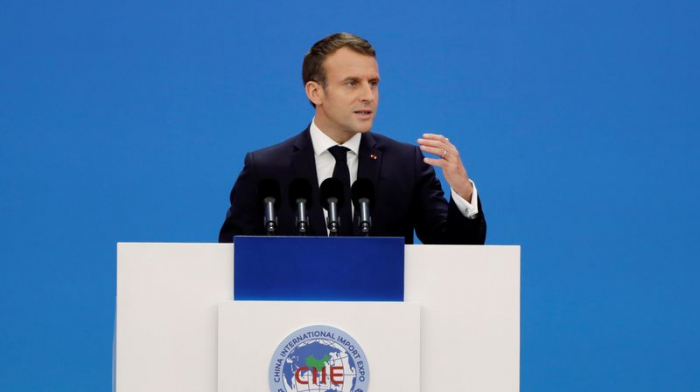 Climat: Macron appelle à «être collectivement» au rendez-vous en 2020